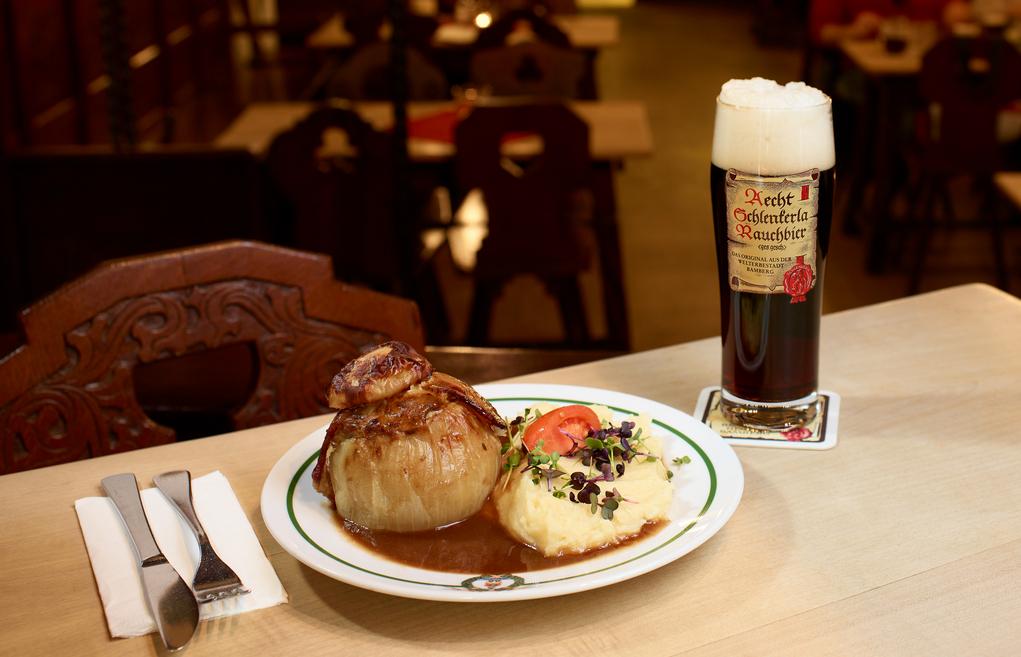 Brauereiausschank Schlenkerla: Rezepte für fränkische Spezialitäten